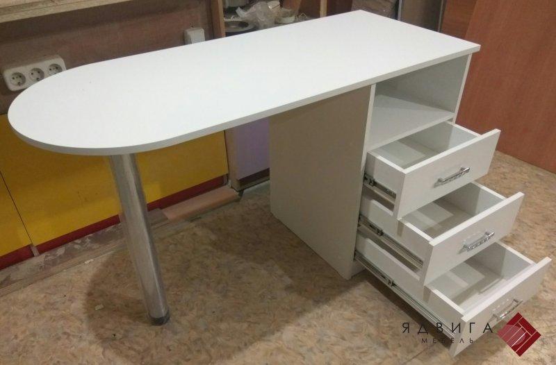 Маникюрные столы и педикюрные тумбы мебель Ядвига.
