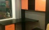 Комплект компьютерный стол + стеллаж + тумбочка