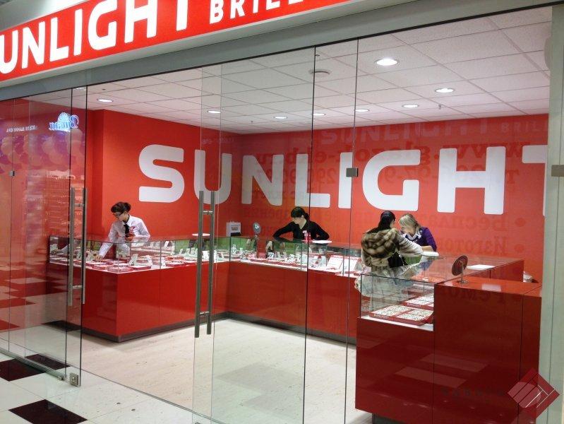 Торговое оборудование Sunlight Brilliant в ТЦ КИТ