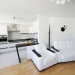 Совмещение гостиной и кухни: принципы зонирования пространства