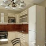 Как оформить дизайн маленькой кухни?