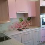 Кухня с «тюльпанами»